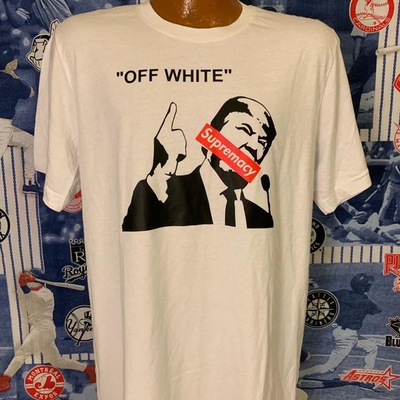 60ecbbfbb148 Shirts | Donald Trump Off White Supremacy Tshirt Large | Poshmark